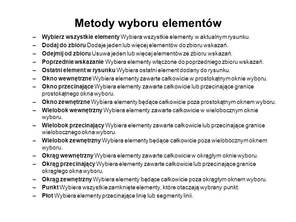 Polecenie LUSTRO _MIRROR – symetria osiowa obiektów względem dowolnej osi