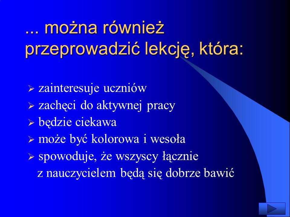 Na ekranie pojawi się pierwszy slajd otworzonej prezentacji Menu