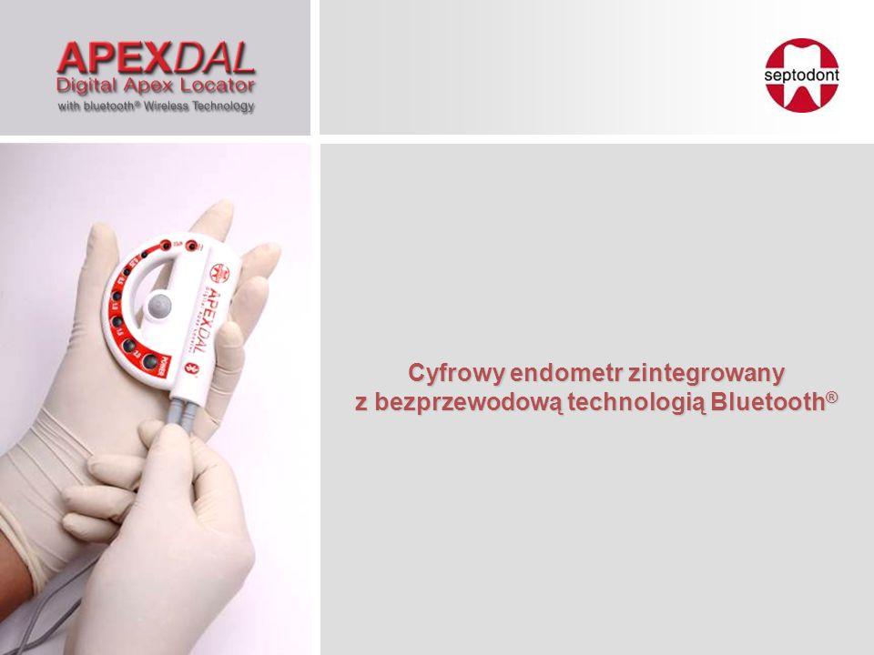 Dane pomiarowe są jednocześnie wyświetlane na endometrze oraz na monitorze komputera za pośrednictwem technologii Bluetooth.