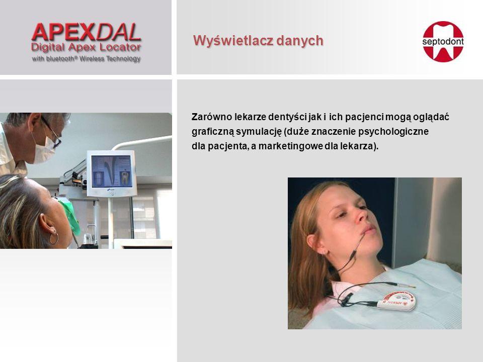 Zarówno lekarze dentyści jak i ich pacjenci mogą oglądać graficzną symulację (duże znaczenie psychologiczne dla pacjenta, a marketingowe dla lekarza).