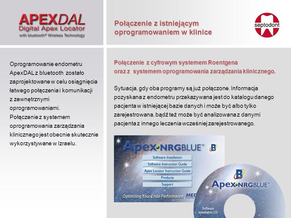 Połączenie z istniejącym oprogramowaniem w klinice Połączenie z cyfrowym systemem Roentgena oraz z systemem oprogramowania zarządzania klinicznego. Sy