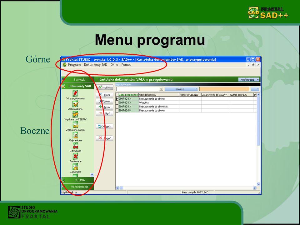 Dziękujemy za zainteresowanie oprogramowaniem Fraktal SAD ++ Niniejsza prezentacja jest przeglądem głównych funkcji programu.