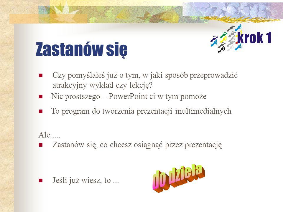 Praca zaliczeniowa, kurs Andragogika Noemi Nikończuk-Kowalczyk, Legnica, wrzesień 2004 r.