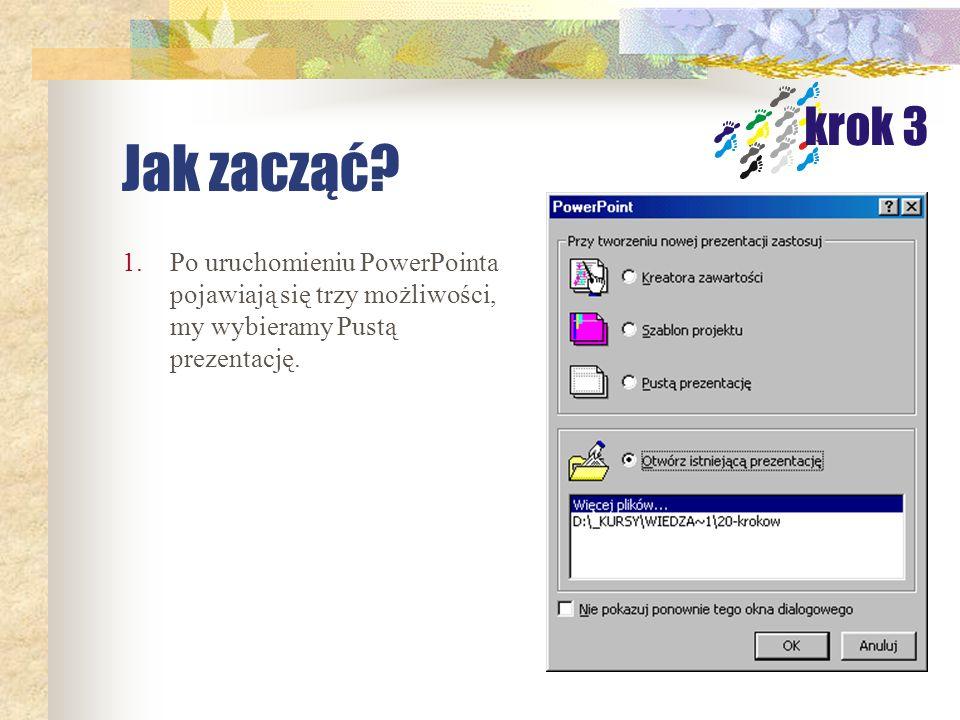 Pokaz prezentacji Pokaz gotowy do prezentacji No to START Pokaz/Wyświel pokaz lub F5