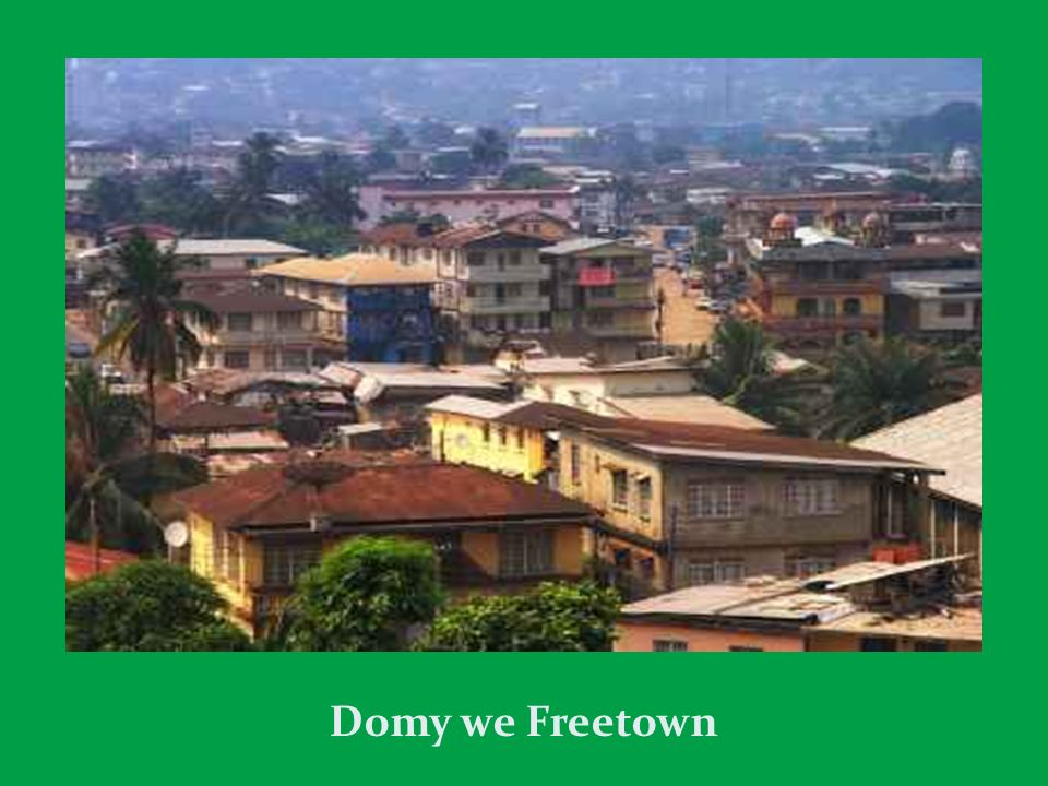 Domy we Freetown