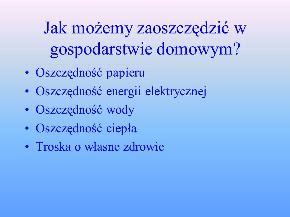 GOSPODARSTWO DOMOWE Prezentacja z informatyki z techniką