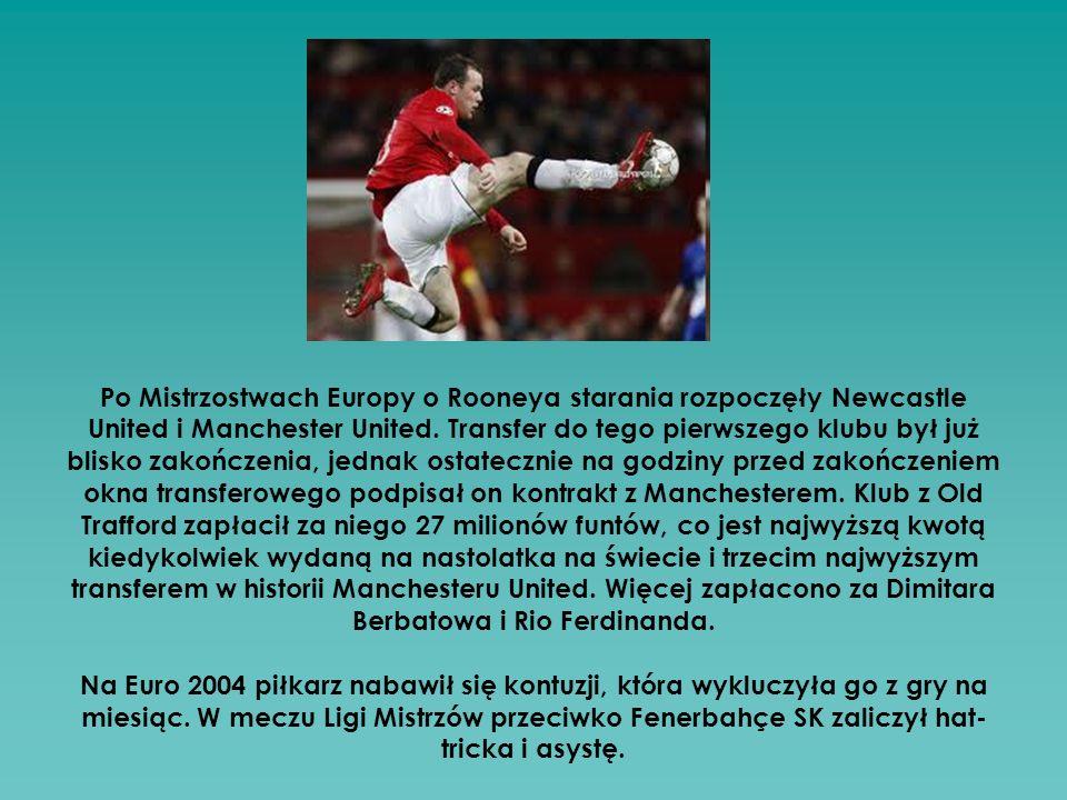 Po Mistrzostwach Europy o Rooneya starania rozpoczęły Newcastle United i Manchester United.
