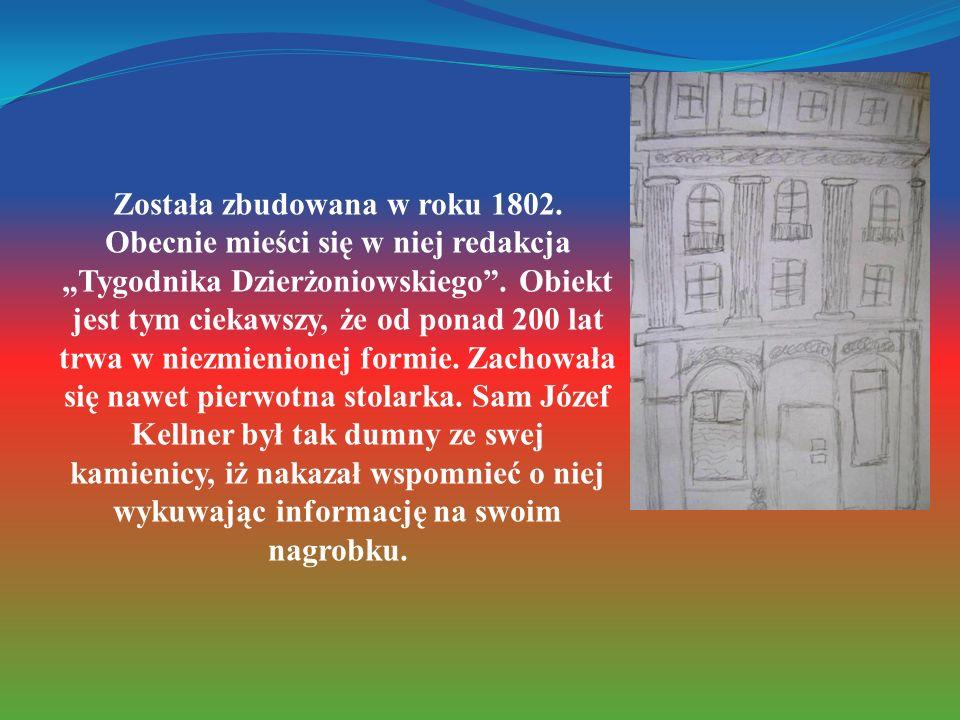Została zbudowana w roku 1802. Obecnie mieści się w niej redakcja Tygodnika Dzierżoniowskiego. Obiekt jest tym ciekawszy, że od ponad 200 lat trwa w n