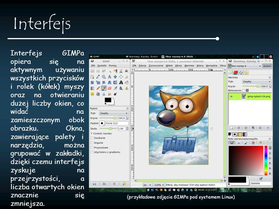 Dlaczego GIMP.GIMP jest wolnym oprogramowaniem, rozprowadzanym na licencji GNU GPL.