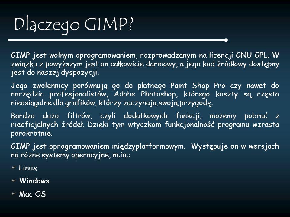 Wersje 1995-11-21 GIMP announced 1996-0215 GIMP 0.54 1998-06-03 GIMP 1.0.0 1998-09-28 GIMP 1.0.1 1998-10-15 GIMP 1.0.2 1999-03-29 GIMP 1.0.2 1999-04-04 GIMP 1.0.3 2000-12-25 GIMP 1.2.0 2001-01-22 GIMP 1.2.1 2001-07-26 GIMP 1.2.2 2002-02-12 GIMP 1.2.3 2003-05-19 GIMP 1.2.4 2003-06-14 GIMP 1.2.5 2004-03-23 GIMP 2.0.0 2004-04-14 GIMP 2.0.1 2004-06-15 GIMP 2.0.2 2004-07-17 GIMP 2.0.3 2004-08-05 GIMP 2.0.4 2004-09-25 GIMP 2.0.5 2004-11-02 GIMP 2.0.6 2004-12-19 GIMP 2.2.0 2004-12-28 GIMP 2.2.1 2005-01-09 GIMP 2.2.2 2005-01-22 GIMP 2.2.3 2005-02-22 GIMP 2.2.4 2005-04-09 GIMP 2.2.5 2005-04-10 GIMP 2.2.6 2005-05-08 GIMP 2.2.7 2005-06-27 GIMP 2.2.8 2005-10-27 GIMP 2.2.9 2005-12-27 GIMP 2.2.10 2006-04-13 GIMP 2.2.11 2006-07-06 GIMP 2.2.12 2006-08-24 GIMP 2.2.13 2007-04-18 GIMP 2.2.14 2007-05-26 GIMP 2.2.15 2007-07-06 GIMP 2.2.16 2007-07-13 GIMP 2.2.17 2007-10-24 GIMP 2.4.0 2007-10-31 GIMP 2.4.1 2007-11-20 GIMP 2.4.2 2007-12-16 GIMP 2.4.3 2008-01-30 GIMP 2.4.4 2008-03-01 GIMP 2.4.5