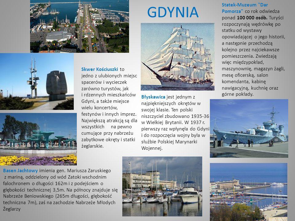 GDYNIA Skwer Kościuszki to jedno z ulubionych miejsc spacerów i wycieczek zarówno turystów, jak i rdzennych mieszkańców Gdyni, a także miejsce wielu koncertów, festynów i innych imprez.