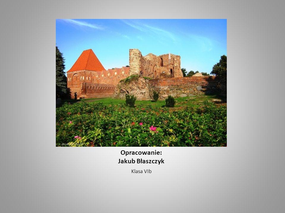 Opracowanie: Jakub Błaszczyk Klasa VIb