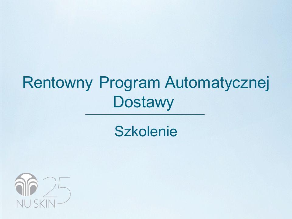 Rentowny Program Automatycznej Dostawy Szkolenie