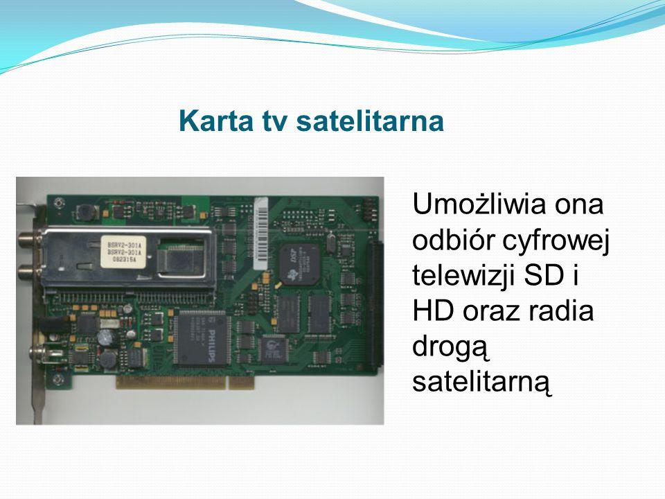 Karta tv satelitarna Umożliwia ona odbiór cyfrowej telewizji SD i HD oraz radia drogą satelitarną