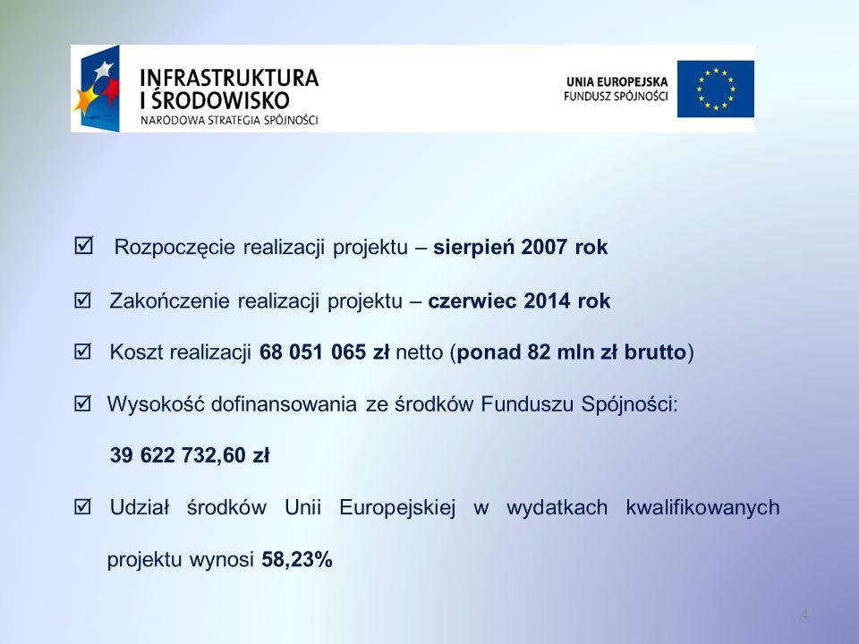Podmiotem odpowiedzialnym za realizację jest Spółka Rawskie Wodociągi i Kanalizacja (RAWiK Sp.
