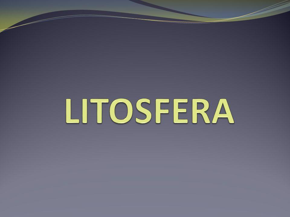 Litosfera- zewnętrzna, skalna powłoka Ziemi.