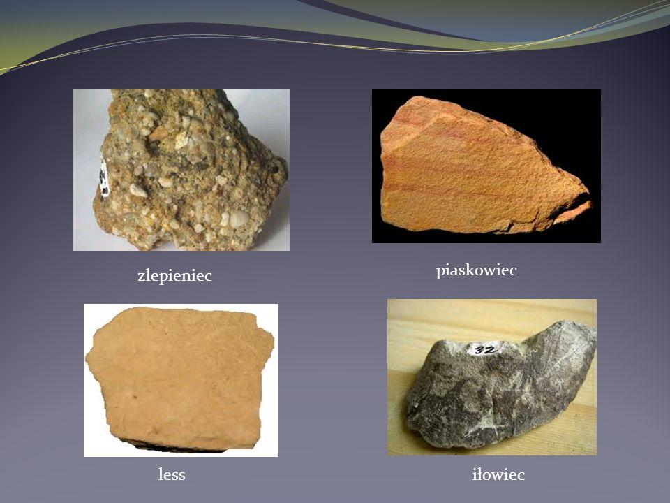 zlepieniec piaskowiec lessiłowiec