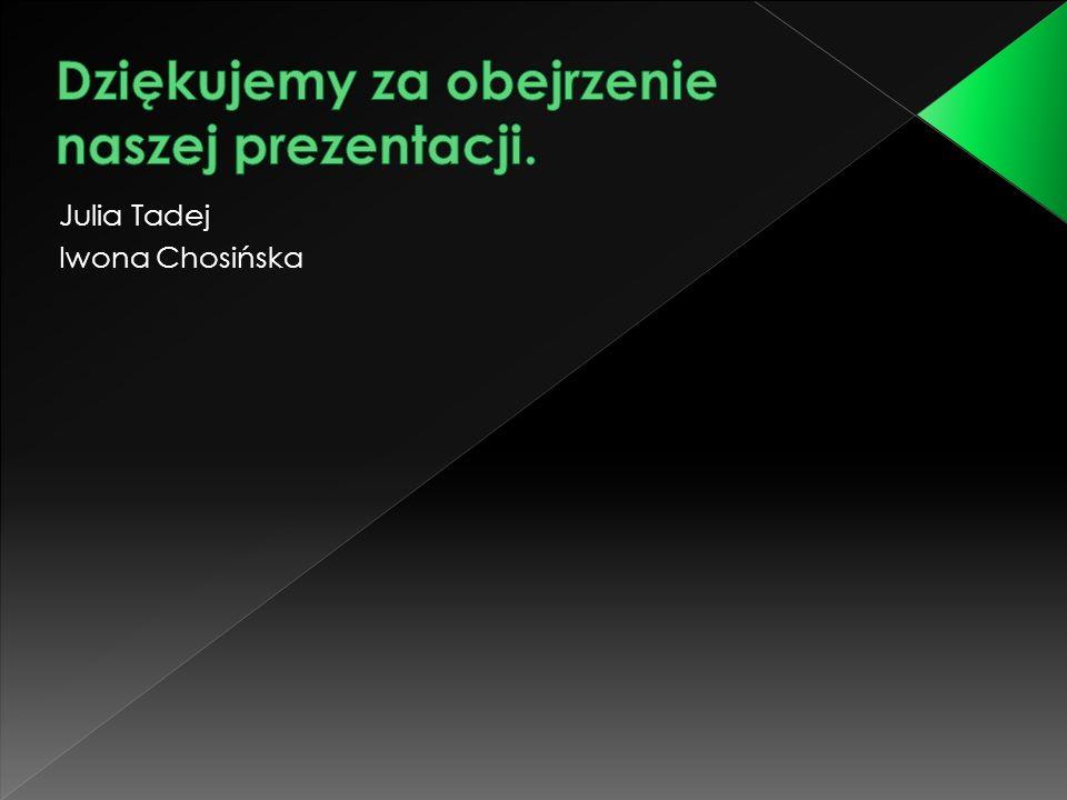 Julia Tadej Iwona Chosińska