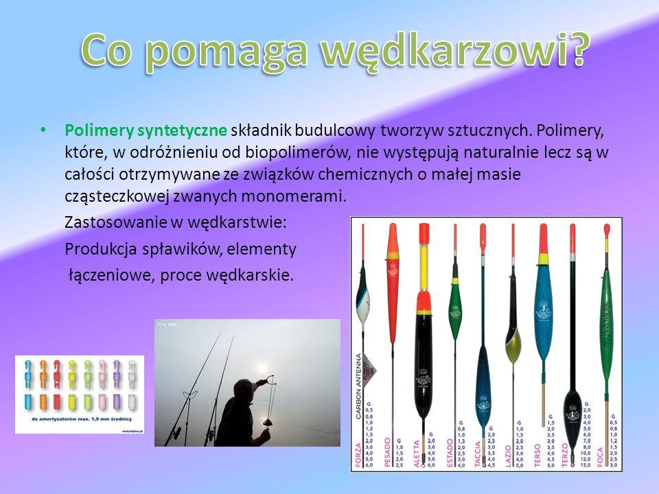 Polimery syntetyczne składnik budulcowy tworzyw sztucznych.