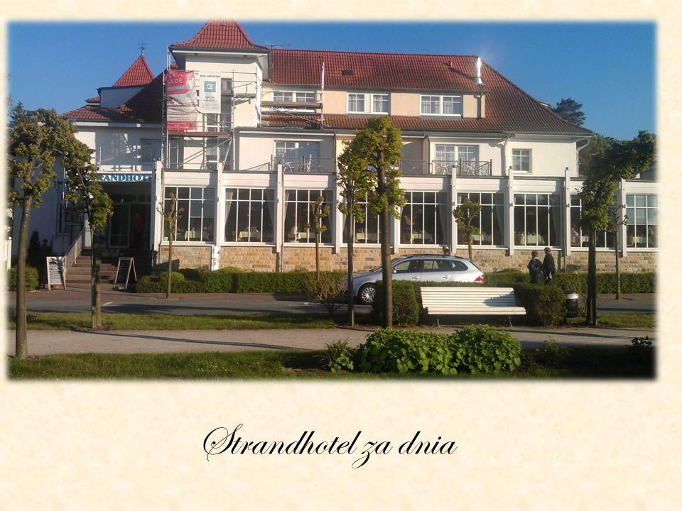 Strandhotel za dnia