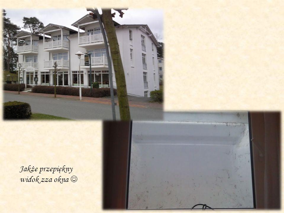 Nasze mieszkanie, które również było gwarantowane przez pracodawcę.
