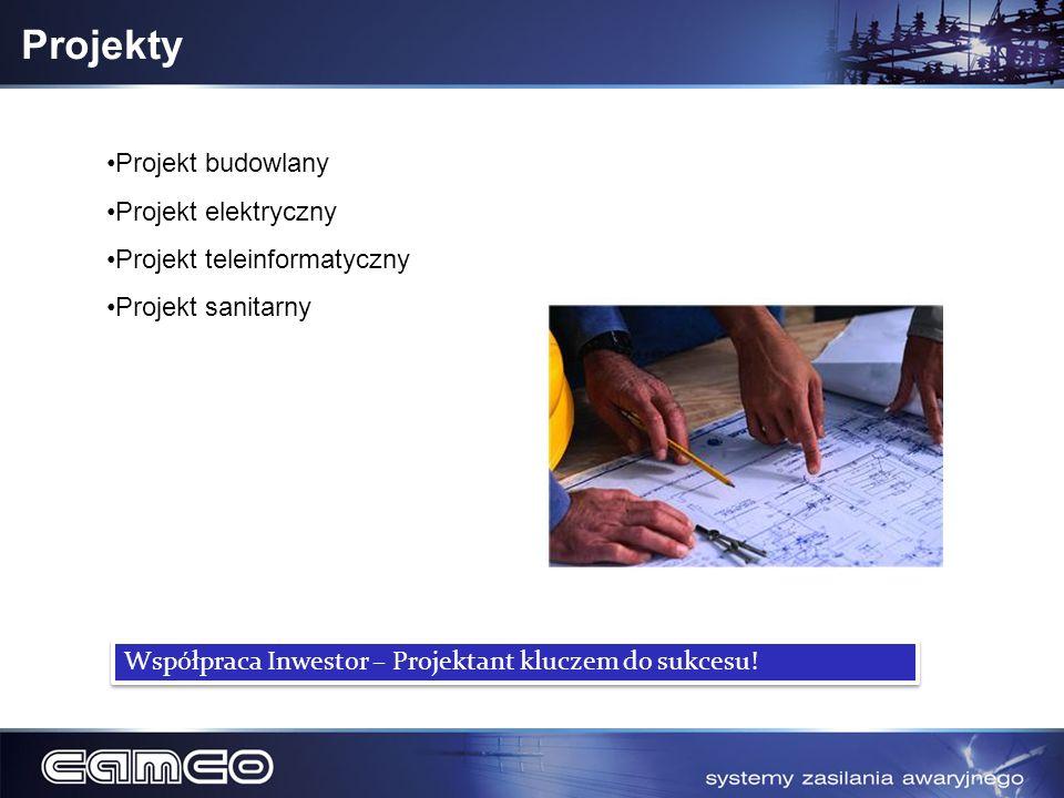 Projekty Projekt budowlany Projekt elektryczny Projekt teleinformatyczny Projekt sanitarny Współpraca Inwestor – Projektant kluczem do sukcesu!