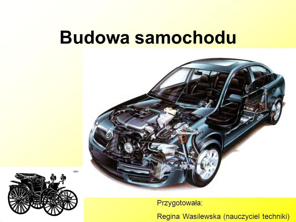 Budowa samochodu Przygotowała: Regina Wasilewska (nauczyciel techniki)