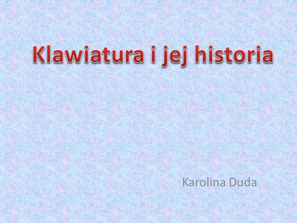 Karolina Duda