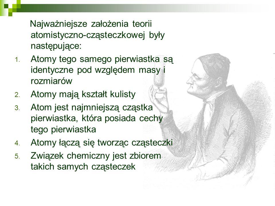 Pojęcie atomu jako najmniejszej cząsteczki materii pojawiło się w starożytnej Grecji w IV wieku p.n.e.