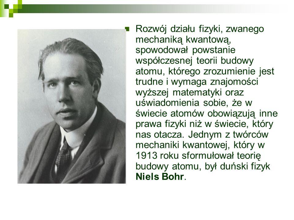 Ogromny postęp w rozwoju pojęcia atomu nastąpił po odkryciu zjawiska promieniotwórczości pierwiastków oraz otrzymaniu pierwiastków promieniotwórczych: radu i polonu przez Marię Skłodowską-Curie.