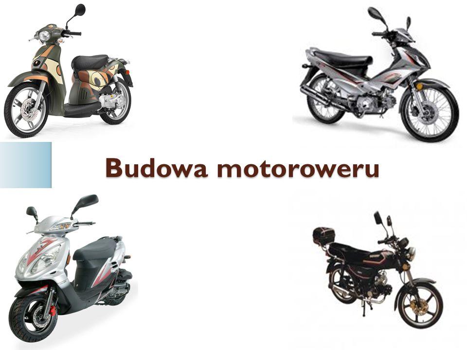 Budowa motoroweru