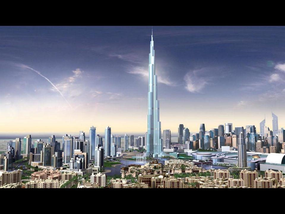 Tak będzie się prezentować panorama Dubaju w najbliższych miesiącach. Wybudowano już 140 pięter Burj Dubai