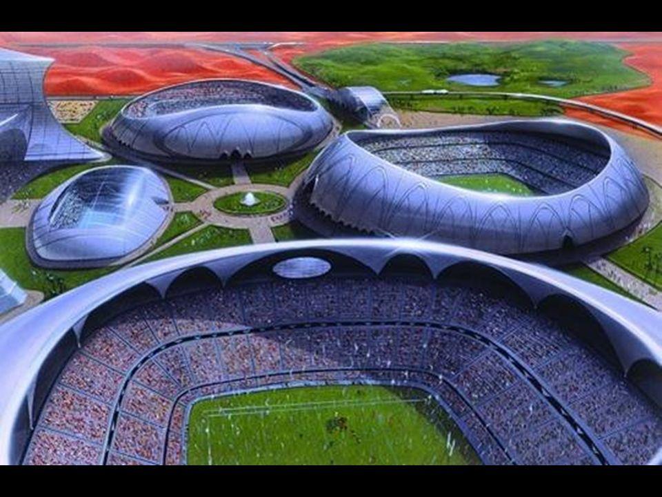 Miasto sportu w Dubaju Ogromne zbiorowisko najróżniejszych obiektów sportowych