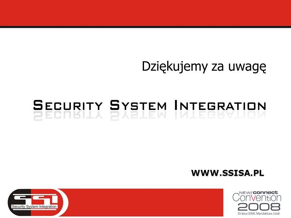 Dziękujemy za uwagę WWW.SSISA.PL