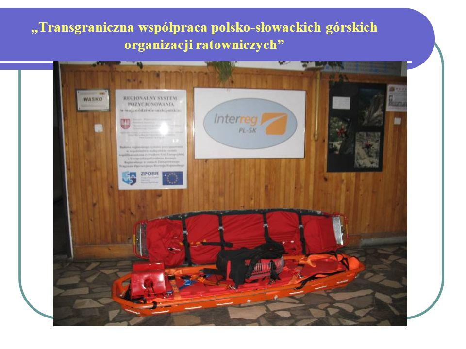 Transgraniczna współpraca polsko-słowackich górskich organizacji ratowniczych