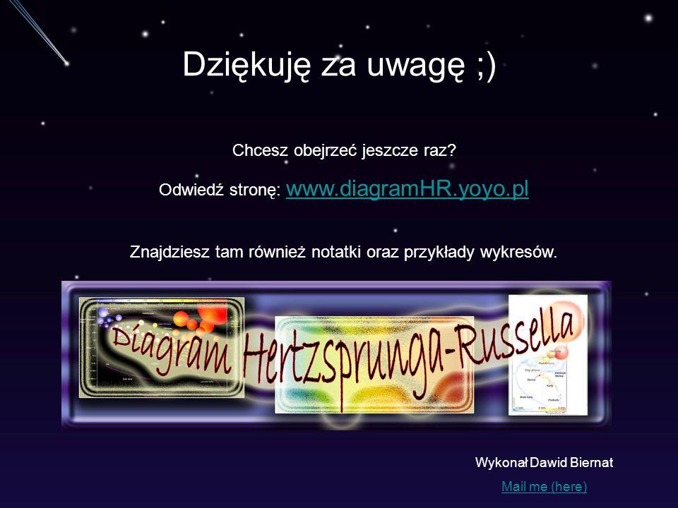 Dziękuję za uwagę ;) Chcesz obejrzeć jeszcze raz? Odwiedź stronę: www.diagramHR.yoyo.pl www.diagramHR.yoyo.pl Znajdziesz tam również notatki oraz przy