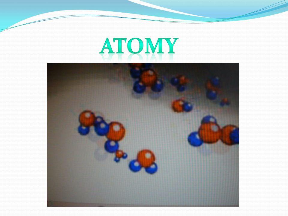 Atomy rzadko występują pojedynczo, z reguły bowiem łączą się ze sobą, tworząc cząsteczki.