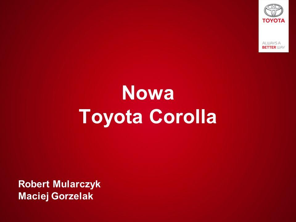 Nowa Toyota Corolla Robert Mularczyk Maciej Gorzelak