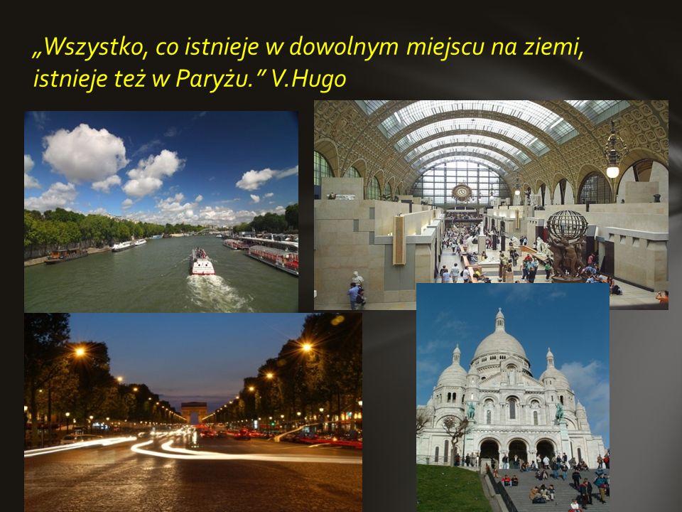 Paryż to miasto-legenda, przez wielu uznawany za stolicę świata. Rocznie Paryż odziedza ok 30 mln turystów