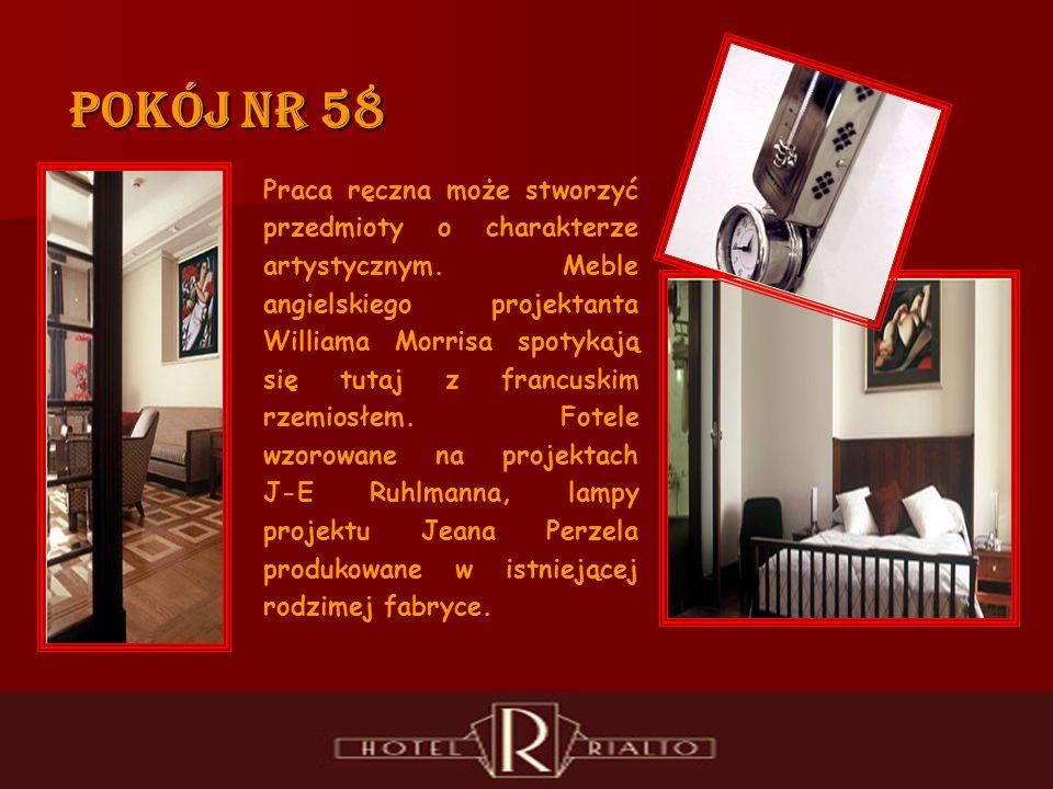 Pokój nr 58 Praca ręczna może stworzyć przedmioty o charakterze artystycznym.