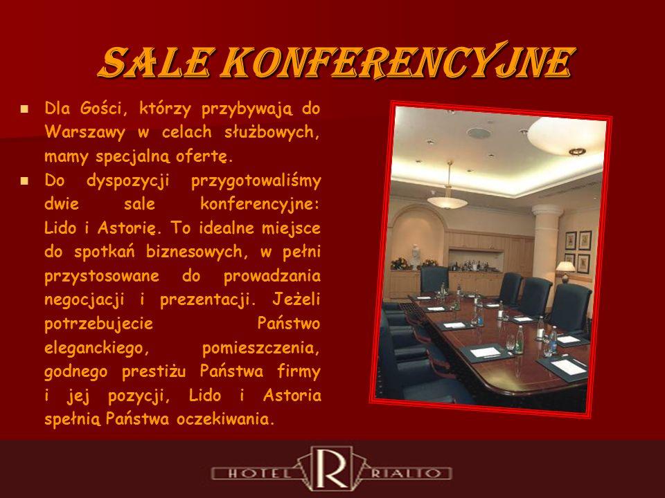 Sale Konferencyjne Dla Gości, którzy przybywają do Warszawy w celach służbowych, mamy specjalną ofertę.