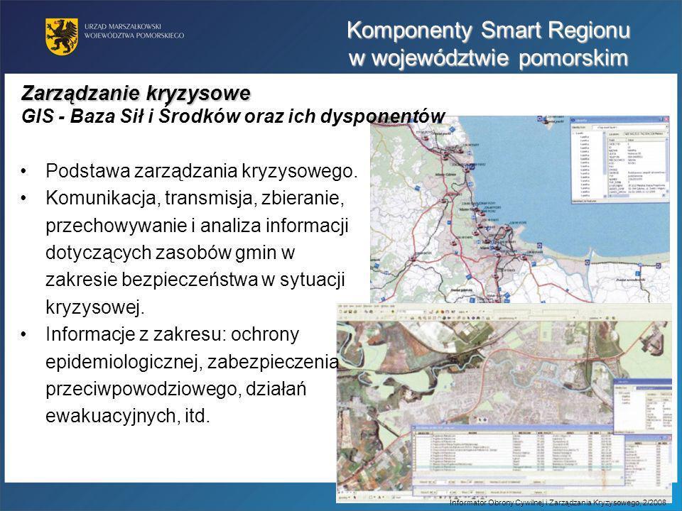 Podstawa zarządzania kryzysowego. Komunikacja, transmisja, zbieranie, przechowywanie i analiza informacji dotyczących zasobów gmin w zakresie bezpiecz