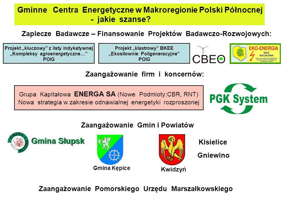 Gminne Centra Energetyczne w Makroregionie Polski Północnej - jakie szanse.