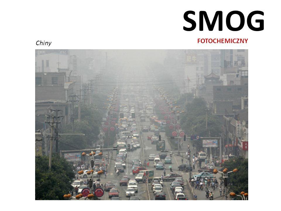SMOG FOTOCHEMICZNY Chiny