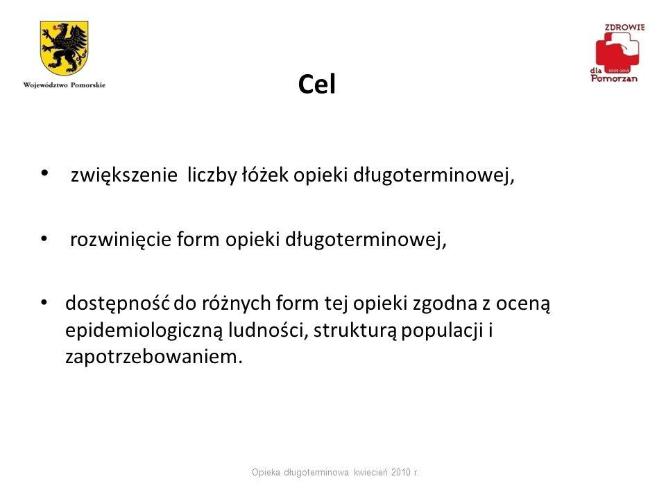 Efekty Opieka długoterminowa kwiecień 2010 r.