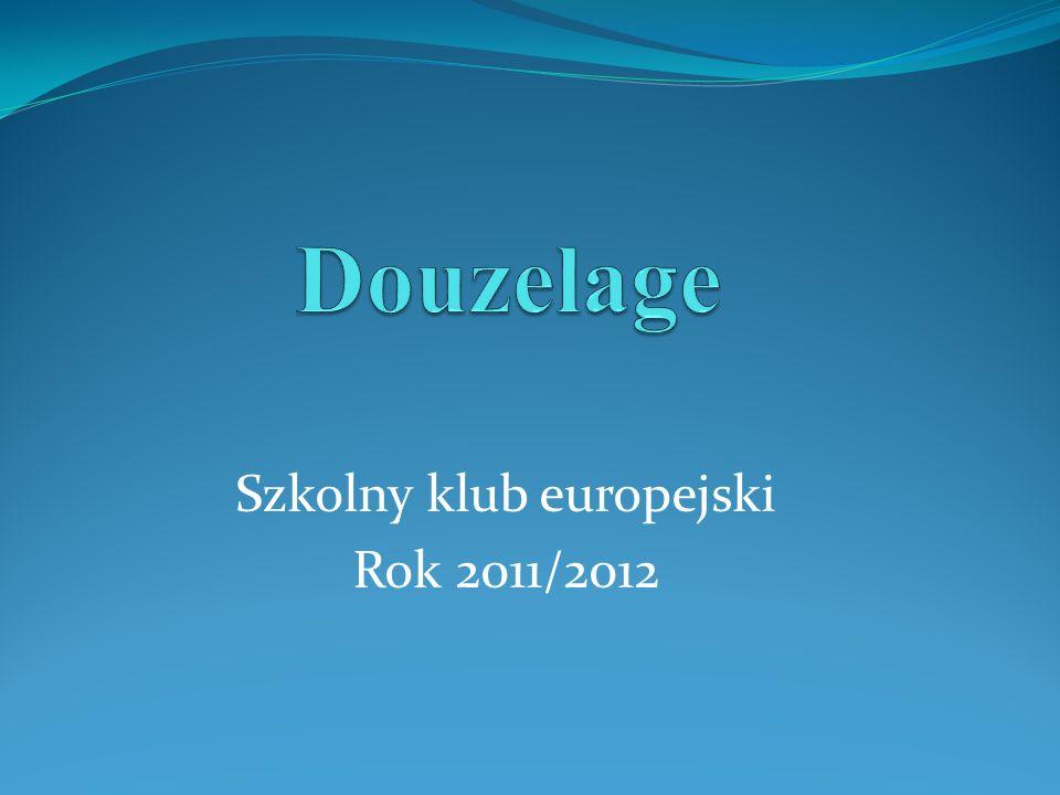 Szkolny klub europejski Rok 2011/2012