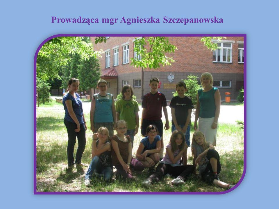 Prowadząca mgr Agnieszka Szczepanowska