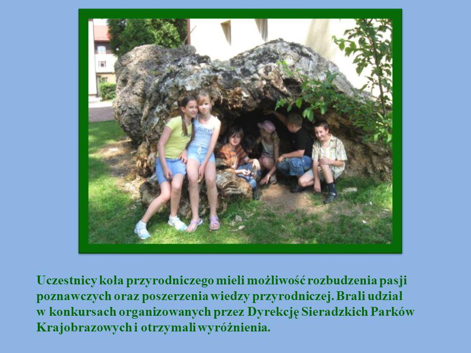 Uczestnicy koła przyrodniczego mieli możliwość rozbudzenia pasji poznawczych oraz poszerzenia wiedzy przyrodniczej. Brali udział w konkursach organizo