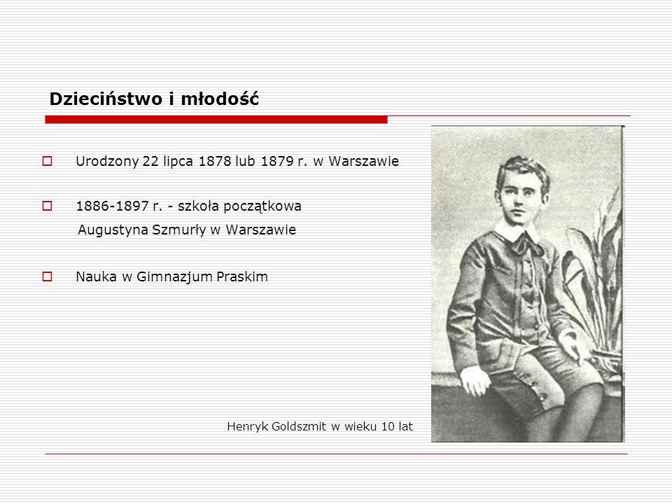 Dzieciństwo i młodość Urodzony 22 lipca 1878 lub 1879 r.