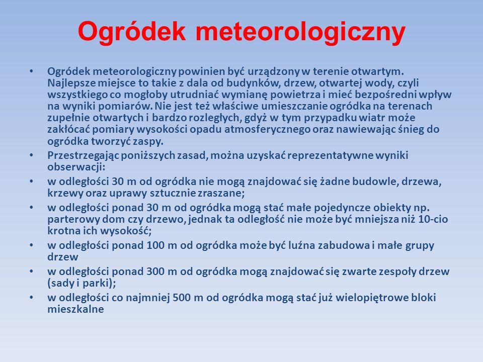 Widzialnościomierz Jest to wielofunkcyjny czujnik przeznaczony dla automatycznych stacji meteorologicznych.